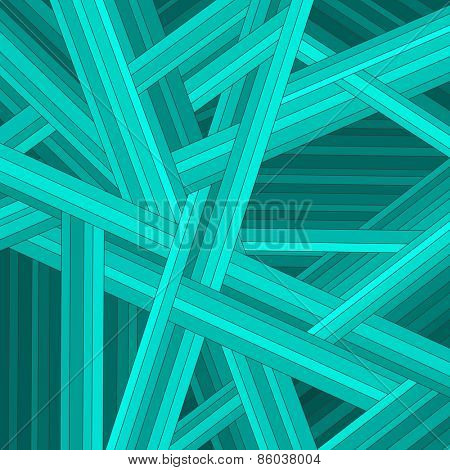 Green striped abstract background, vector eps10 illustration