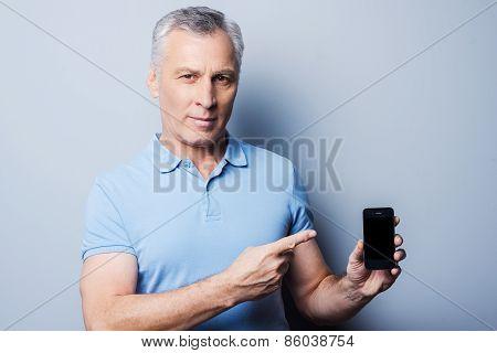 Presenting Brand New Smartphone.