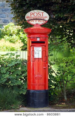 Traditional British Postbox