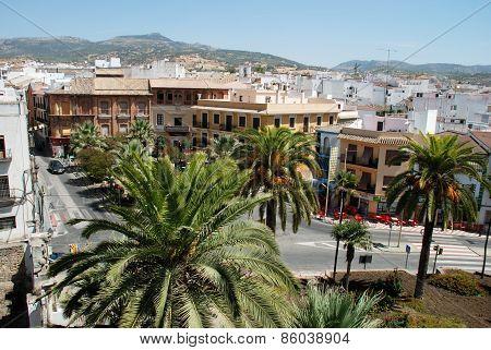 Cabra town square, Spain.