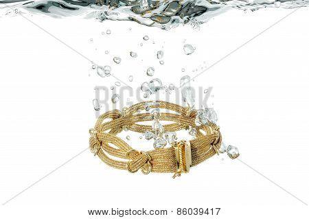 Bracelet In Water