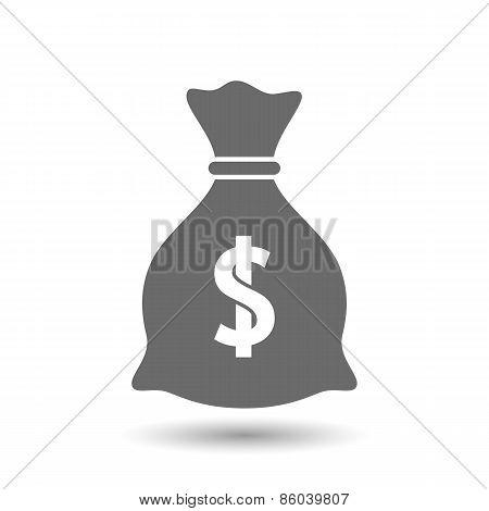 Vector money bag icon