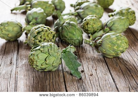 Artichoke, Natural Bio Food Concept