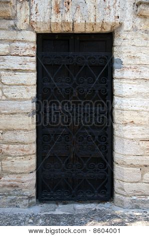 The Old Wooden Door