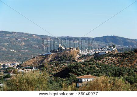 White town, Iznajar.
