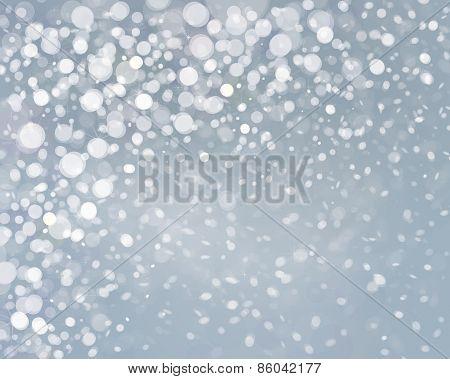 Vector snowfall background.