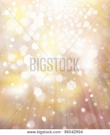Glitter golden background.