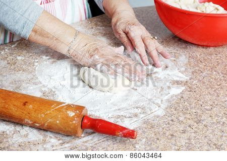 Making Dough For Pie Crust