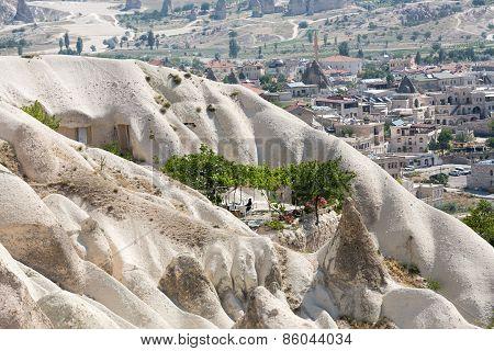 Love valley in Goreme national park. Cappadocia Turkey
