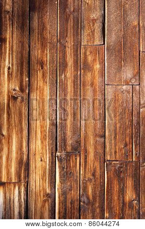 Weathered Wood Planks Vertical