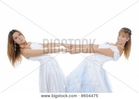 Two Beautiful Brides
