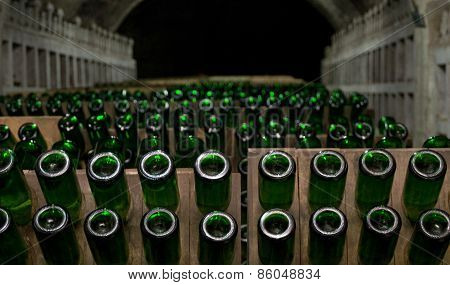 Champagne Production
