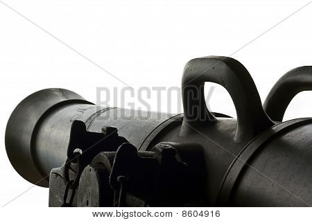 Ancient Cannon Isolated