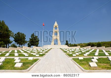 Martyrs' Memorial For 57th Infantry Regiment, Canakkale, Turkey