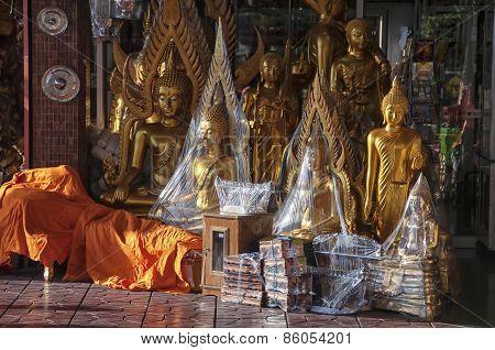 Buddha Golden Statue Souvenir