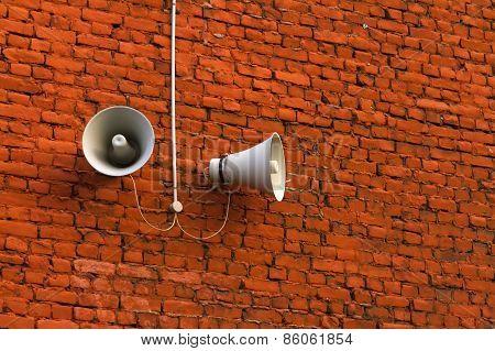 Street Loudspeaker