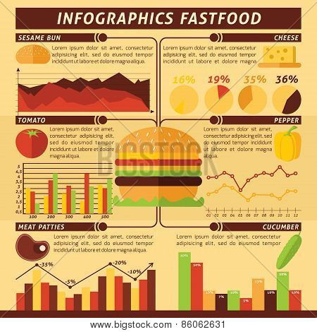 Fast Food Infographics
