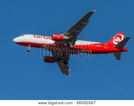 Airbus A320, The Airline Air Berlin Airlines