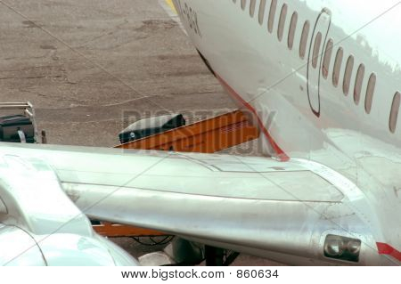 Baggage in plane