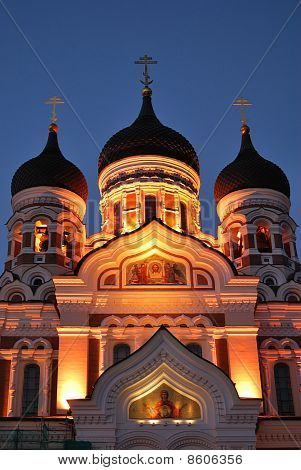 Tallinn. Alexander Nevsky Cathedral