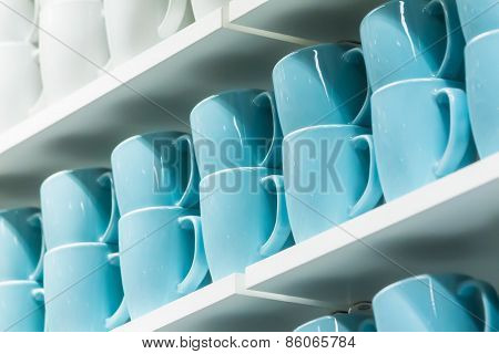 Cups On The Shelves