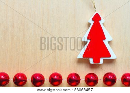 Christmas Ornamental Background