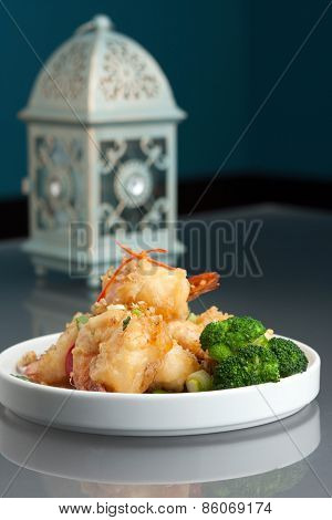 Thai Honey Shrimp