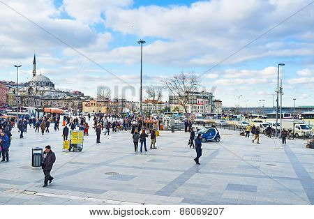 The Busy Square