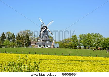 Windmill of Mölln, Germany