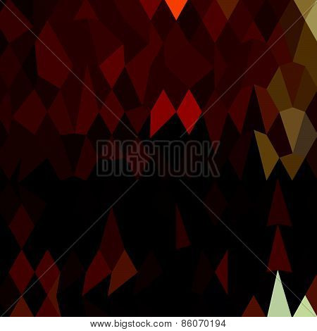 Brown Forest Abstract Low Polygon Background