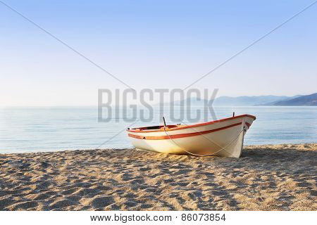 Boat On The Sand