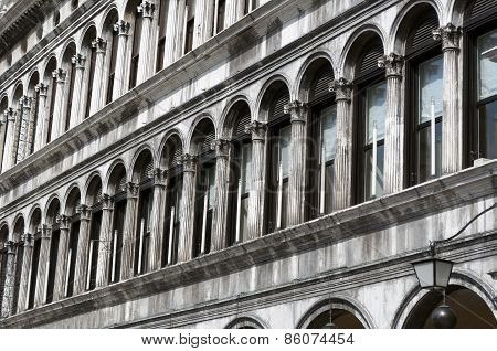 Architectural Details in Venice, Italy