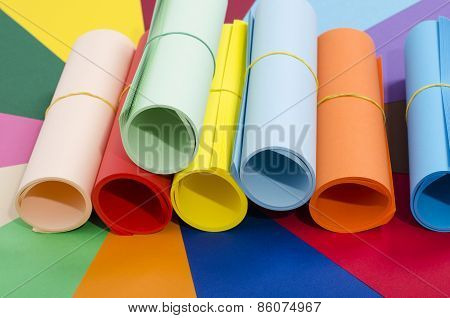Roles Of Color Paper.