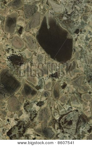 Surface Of The Granite. Mottled Texture.