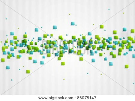 Abstract shiny hi-tech background. Vector design