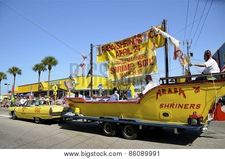 Parade at Fort  Myers Beach Shrimp Festival