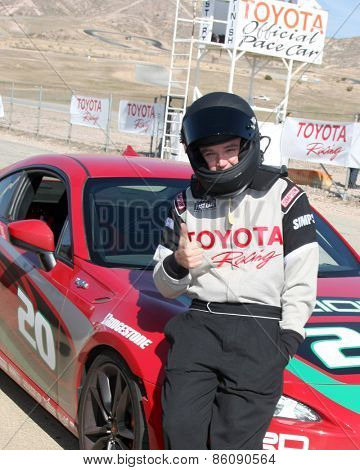 LOS ANGELES - FEB 21:  Brent Davern at the Grand Prix of Long Beach Pro/Celebrity Race Training at the Willow Springs International Raceway on March 21, 2015 in Rosamond, CA