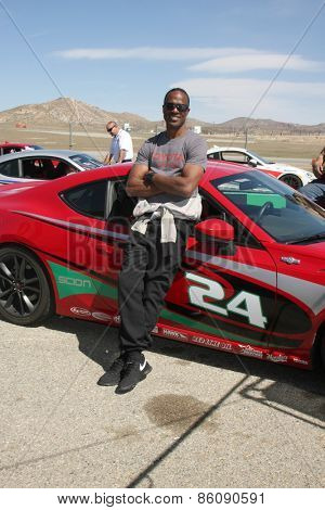 LOS ANGELES - FEB 21:  Willie Gault at the Grand Prix of Long Beach Pro/Celebrity Race Training at the Willow Springs International Raceway on March 21, 2015 in Rosamond, CA