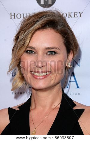 LOS ANGELES - MAR 18:  Kristina Klebe at the Norma Jean Gala at the Taglyan Complex on March 18, 2015 in Los Angeles, CA