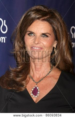 LOS ANGELES - MAR 18:  Maria Shriver at the 23rd Annual A Night at Sardi's to benefit the Alzheimer's Association at the Beverly Hilton Hotel on March 18, 2015 in Beverly Hills, CA