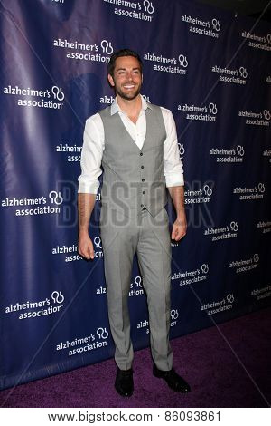 LOS ANGELES - MAR 18:  Zachary Levi at the 23rd Annual A Night at Sardi's to benefit the Alzheimer's Association at the Beverly Hilton Hotel on March 18, 2015 in Beverly Hills, CA