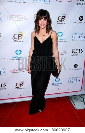 LOS ANGELES - MAR 18:  Lindsay Sloane at the Norma Jean Gala at the Taglyan Complex on March 18, 2015 in Los Angeles, CA