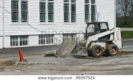 Digging Up the Pavement