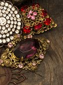 foto of brooch  - vintage brooches - JPG