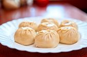 foto of mongolian  - Buuza is a Buryat or Mongolian national dish - JPG