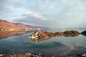 picture of early morning  - Early morning on the Dead Sea resorts - JPG