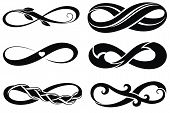 picture of infinity symbol  - Vector tattoo symbols - JPG