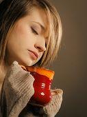 stock photo of sleepy  - Hot beverage - JPG