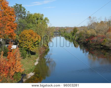 Fall on the Trent Canal