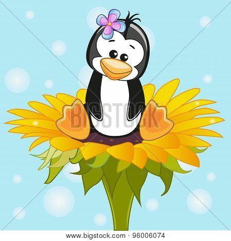 ?artoon Penguin